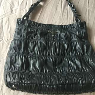 Prada Nappa Gaufre Leather Tote