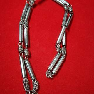 Stainless Steel Necklace (Features Sacred Yants similar to Yant Har Take)