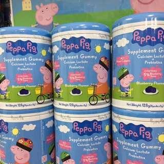 🚚 限時代購!Peppa pig 佩佩豬 Supplement營養軟糖 含維他命C 及益生菌