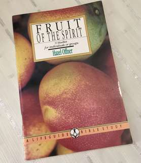 Charity Sale! Fruit of the Spirit by Hazel Offner Christian Book