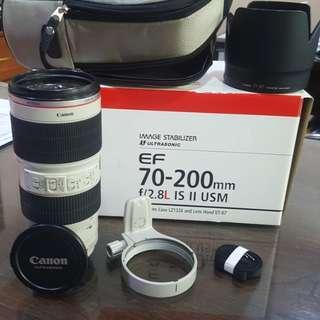 Canon EF 70-200mm F2.8L IS MK2.spt baru