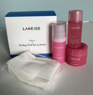 Laneige Peeling Trial Kit