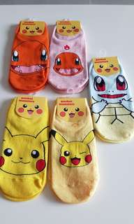Korean Socks /Pokemon Socks/ Super Hero's Socks