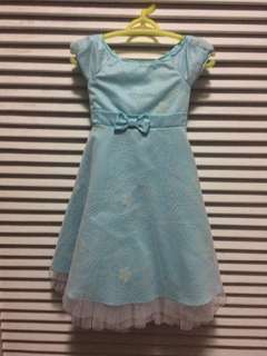 Aqua Blue Elegant Dress (From US)