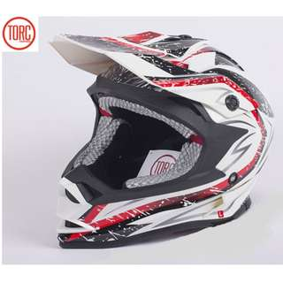 ★READY STOCK SIZE L & XL★ T32 ★ FULL FACE ★ MOTORCYCLE ★ HELMET ★WHITE STORM ★ e-SCOOTER ★ OFF ROAD ★ MOTOCROSS ★ E-BIKE★ NEW ★ DOWNHILL★ WS STORM RANGE ★ DIRT ROAD