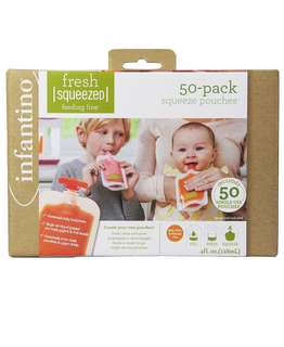 Infantino Squeeze 50 Refill Pouches