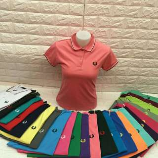 Women's Fred Perry Polo Shirt