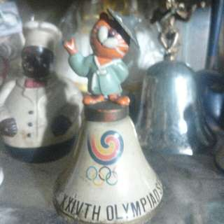 Mini bell from 1988 Olympics
