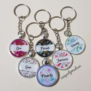 Personalized gifts @ keychains (reserved)