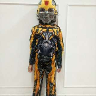 Bummble bee costume + mask