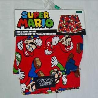Nintendo Super Mario Mens Boxer Shorts (2pcs per pack)