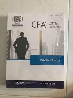 CFA level II 2 2018 practice exam two volumes