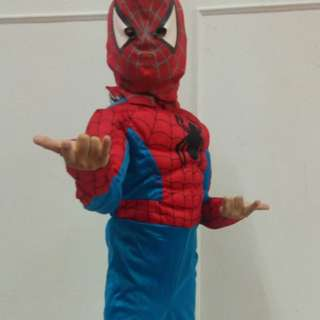 Spiderman 7 tahun