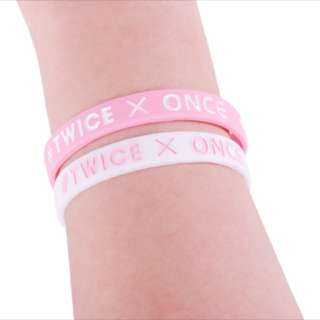 Twice X Once Forever silicone bracelet kpop