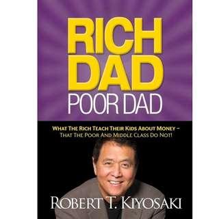 Rich Dad Poor Dad - Rober Kiyosaki (E-Book) (MOBI format)
