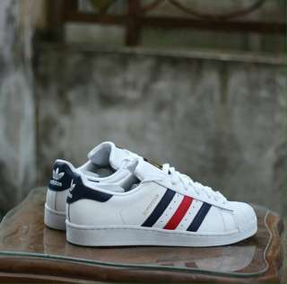 Sepatu Adidas SUPERSTAR FP FRANCE ORIGINAL