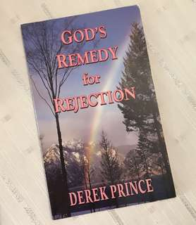 Charity Sale! God's Remedy for Rejection by Derek Prince Christian Book