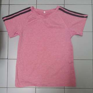 Pink Exercise Top