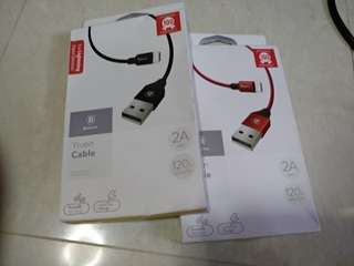 Authentic Baseus USB cable for Lighting