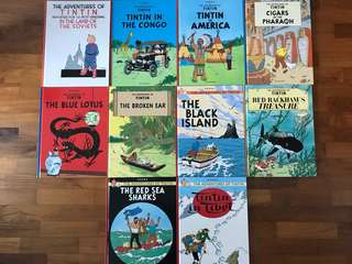 Tin Tin Comics (Hard Cover)