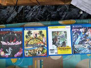 Psvita games for sale!