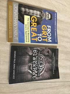 From Grit to Great and Cyber Security Books