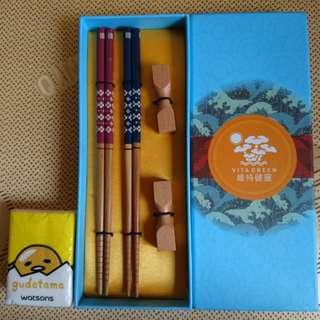 維特健靈 雙對 筷子 (非賣品)