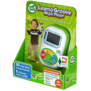 LeapFrog My Own Music Player Scout