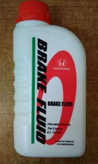 Honda Brake Fluid