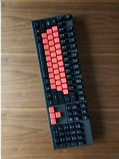 QuickFire XT Cherry browns mechanical keyboard