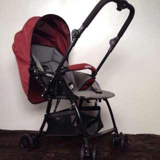 Akeeva Luxury Aluminum Stroller