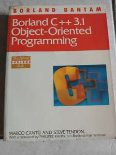 Borland c++ 3.1 object oriented programming