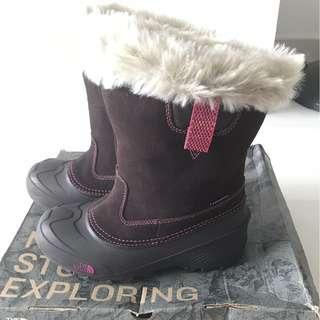 Northface Girls Snow Boots