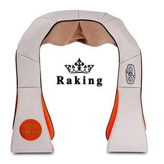 Raking Massager of Neck Kneading