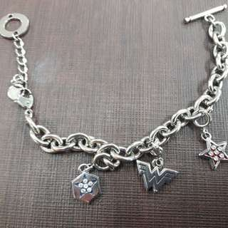 Wonder Woman Titanium Bracelet