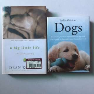 Repriced! Dog books 🐶