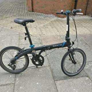 Dahon folding bike (vybe d7)