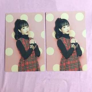 Lovelyz Ji Ae Official Postcard