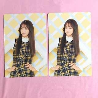 Lovelyz Jisoo Official Postcard