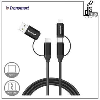 TRONSMART C4N1 4-in-1 USB Type-C Cable