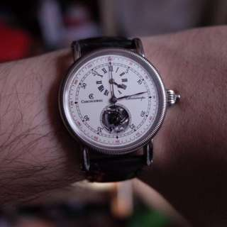 Chronoswiss Chronoscope SINGLE BUTTON CHRONOGRAPH (90% New)