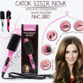 Catok Nova Sisir Hair Auto Straightener