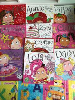 Fairy books - a set of 10 together