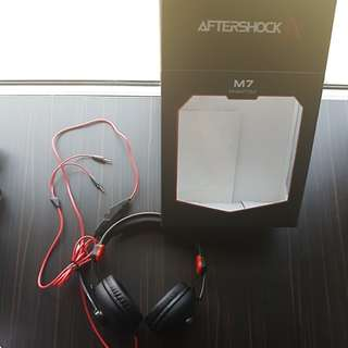 Aftershock M7 Gaming Headphones
