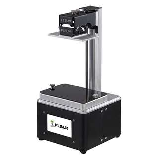 FLSUN-S 3D Printer - DLP Printing Technology, 4.3-Inch touchscreen, Wi-Fi, USB Port, UV Resin (CVAIA-G880)