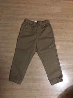 Uniqlo twill jogger pants
