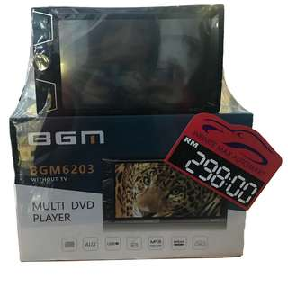BGM 6203 DVD/USB/MP3 2DIN MNT