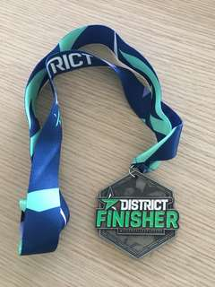 District Race Finisher Medal