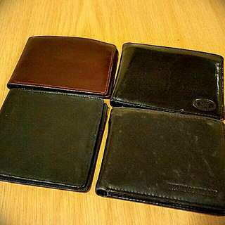 (Good condition) Wallets