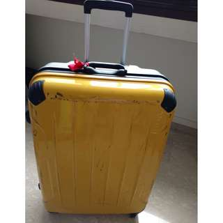 Lojel luggage classic collection - yellow 33 inches